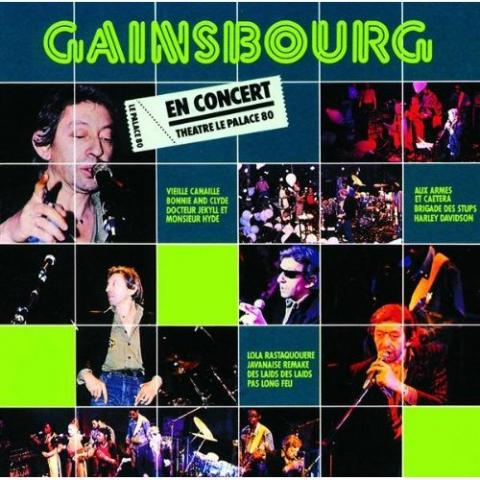 photo de CD de Serge Gainsbourg En concert Théâtre le Palace 80