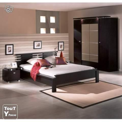chambre a coucher complete pour adulte cachan 94230. Black Bedroom Furniture Sets. Home Design Ideas