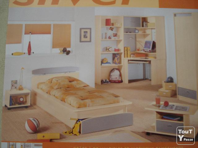 Chambre junior gami m con 71000 for Chambre a coucher junior