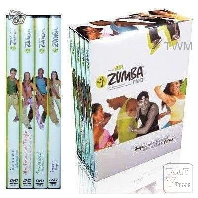photo de Coffret 4 DVD NEUF danse ZUMBA Fitness Aérobic.