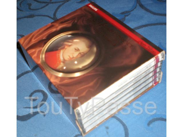photo de coffret 5 cd, the mozart expérience