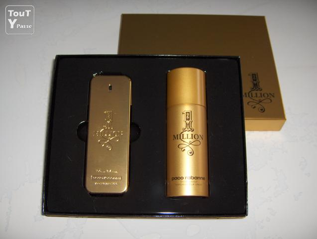 coffret parfum one million de paco rabanne le bugue 24260. Black Bedroom Furniture Sets. Home Design Ideas
