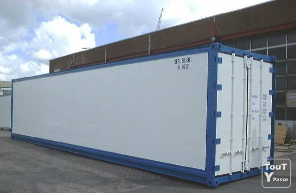 Container reefer 40 39 namur 5000 for Prix container bruxelles