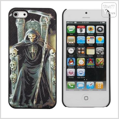 photo de COQUE DE PROTECTION IPHONE 5 & 5G MOTIF FAUCHEUSE