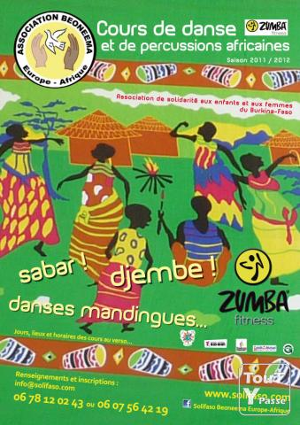 photo de Cours de danse africaine, Sabar, Zumba, djembe, percussion en Alsace - Beoneema