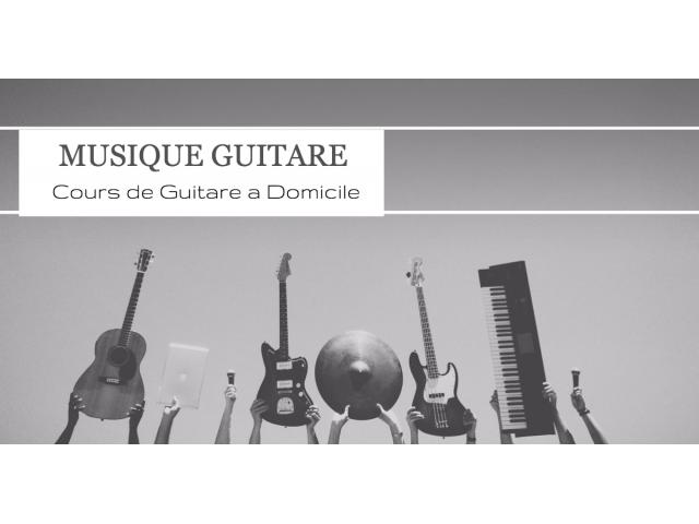 Photo COURS DE GUITARE image 1/3