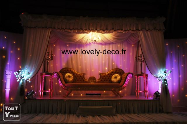 decoration mariage oriental traiteur hallal trone des maries. Black Bedroom Furniture Sets. Home Design Ideas