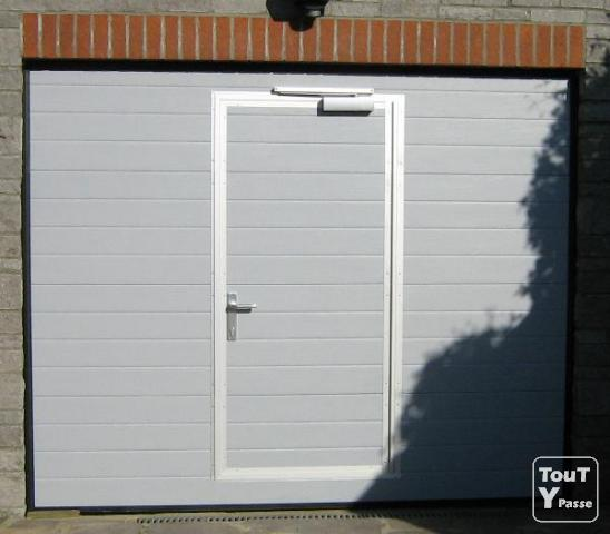 Image gallery tarif porte for Porte de garage coulissante motorisee tarif