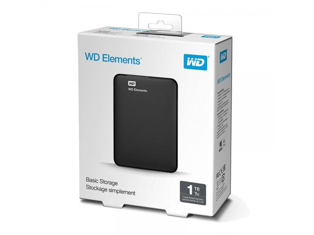 photo de Disque dur WESTERN DIGITAL WDBUZG0010BBK 1 To