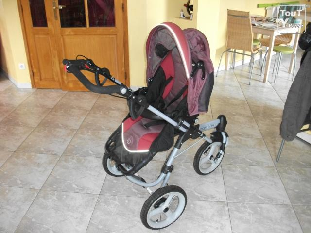 Ensemble poussette high trek rouge b b confort nord pas de calais - Hamac poussette high trek ...