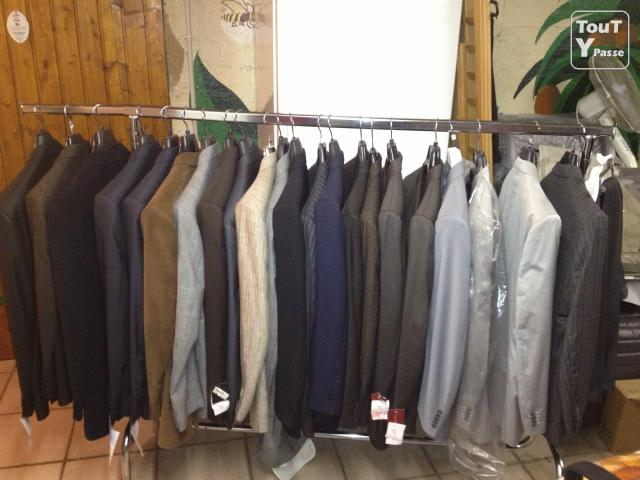 photo de FIn de stock costume/pantalon Marque IZAC ET MEYER.