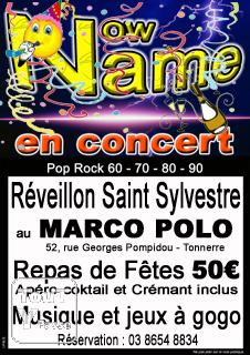 photo de Fêter la Saint Sylvestre avec le groupe Now Name