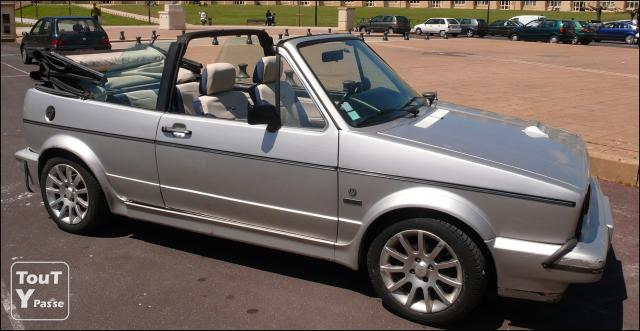 golf 1 cabriolet karmann 1986 turbo diesel. Black Bedroom Furniture Sets. Home Design Ideas