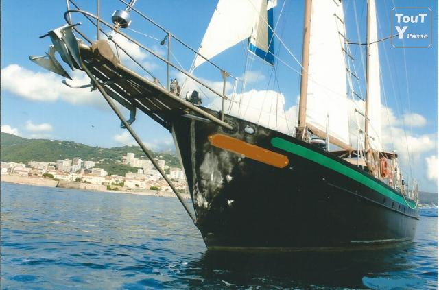 photo de Grand ketch acier pour grands voyages
