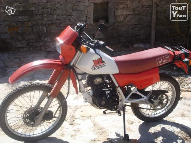 photo de Honda XL 125