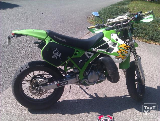 photo de Kawasaki KDX 125 supermotard
