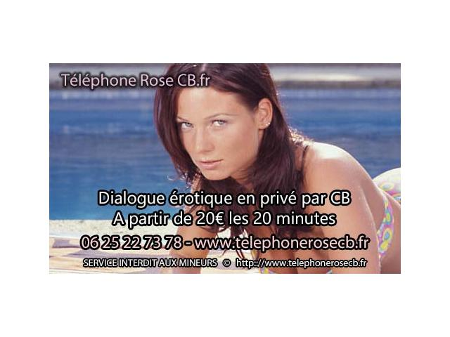 Photo la ligne de telephone rose par CB image 1/1