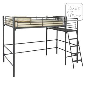 lit mezzanine alexi new 2 140x200 matelas la c te saint andr 38260. Black Bedroom Furniture Sets. Home Design Ideas