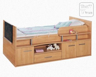 lit sur lev gautier new galaxy pour jeune enfant ch tenay malabry 92290. Black Bedroom Furniture Sets. Home Design Ideas