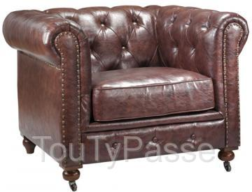 photo de location fauteuil et canapé chesterfield