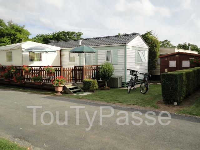 photo de location mobil home a vaux sur mer