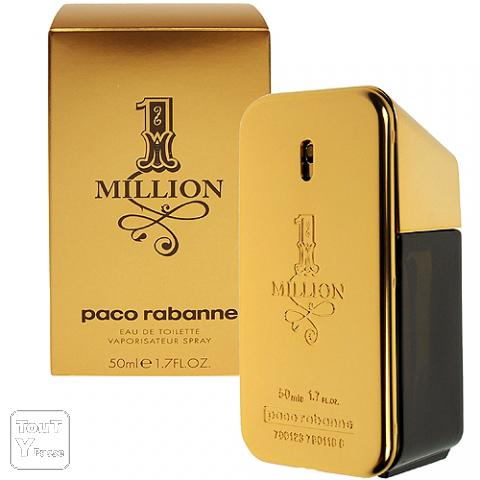 lot de 5 parfum one million de paco rabane gennevilliers 92230. Black Bedroom Furniture Sets. Home Design Ideas
