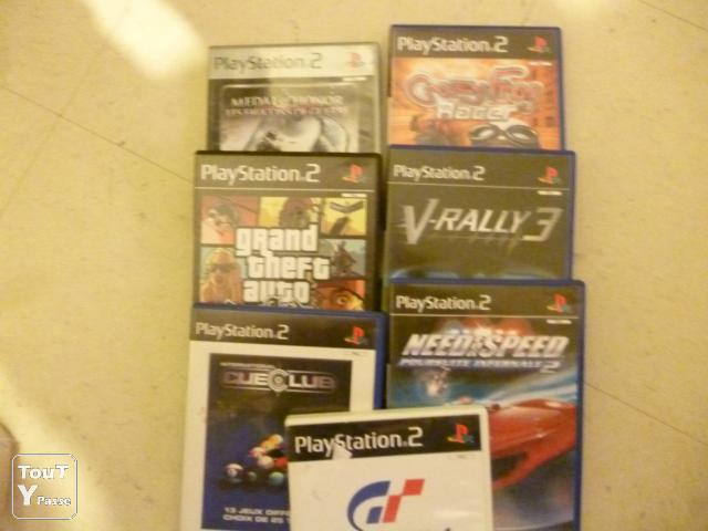 photo de LOT JEUX PS2