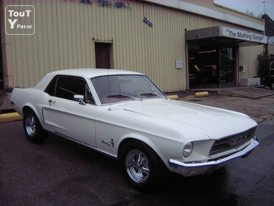 Photo Loue Ford Mustang V8 1968 image 1/5