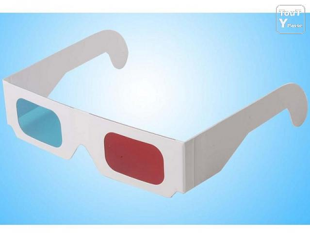 photo de Lunette 3D lot de 5 paires