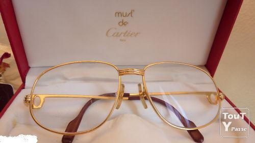 3c0cd2b867b89b lunette cartier homme or Deals   Sales pour mai 2017 - quintesauvage.fr