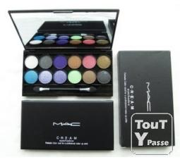 mac cosmetique palette de 12 couleur lyon 03 69003. Black Bedroom Furniture Sets. Home Design Ideas