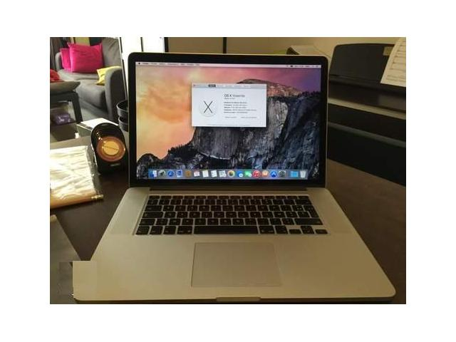 photo de MacBook pro 15 pouces