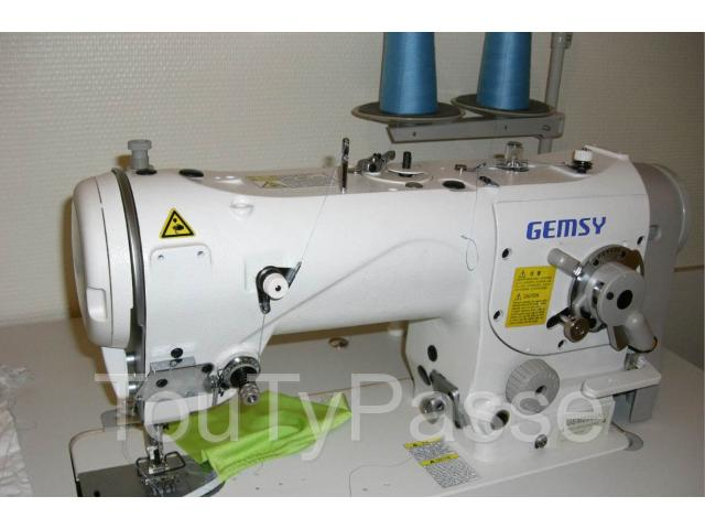 Machine coudre industrielle gemsy aabasene for Machine a coudre 91