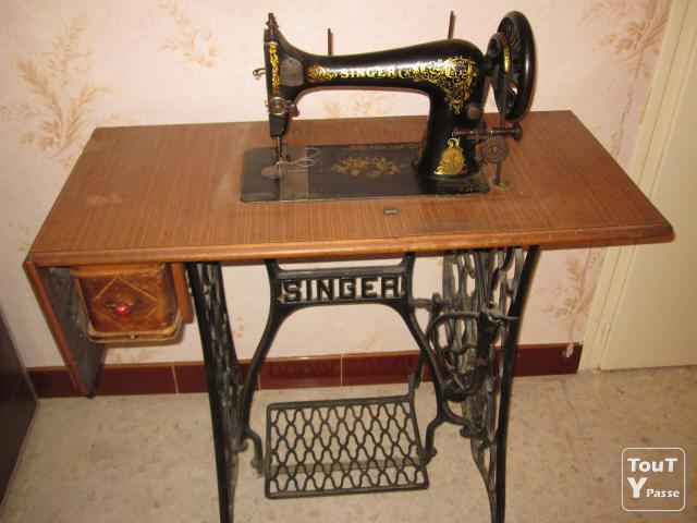 Machine coudre singer montpellier 34000 - Vieille machine a coudre singer ...