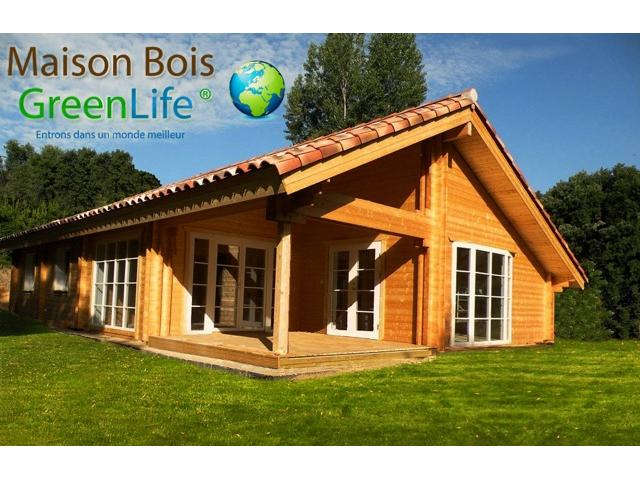 photo de MAISON BOIS KIT GREENLIFE - KIT MAISON BOIS GREENLIFE