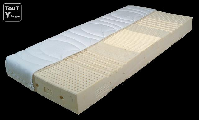 matelas 140x200 biolatex orthopedique m dical 50 d stockage d 39 usine. Black Bedroom Furniture Sets. Home Design Ideas