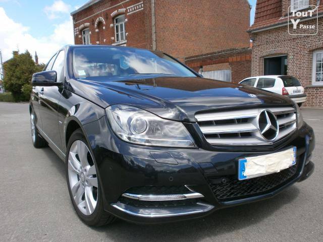 mercedes classe c 220 cdi blueefficiency avantgarde de 9 mois lille 59000. Black Bedroom Furniture Sets. Home Design Ideas
