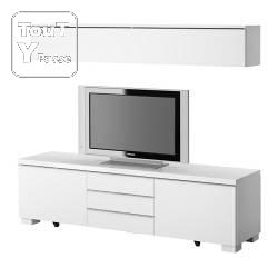 meuble combinaison ikea blanc laque neuf dans la boite. Black Bedroom Furniture Sets. Home Design Ideas