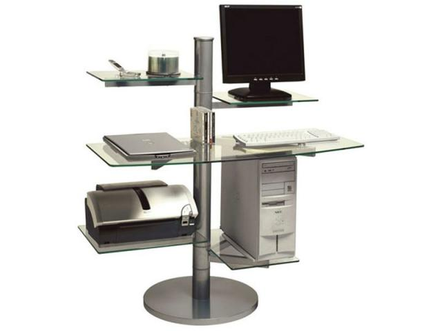 Meuble ordinateur saint quentin 02100 for Meuble bureau ordinateur fixe