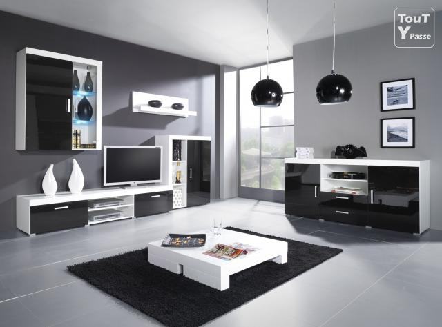 meuble tv design paris noir neuf paris 17 batignolles monceau 75017. Black Bedroom Furniture Sets. Home Design Ideas