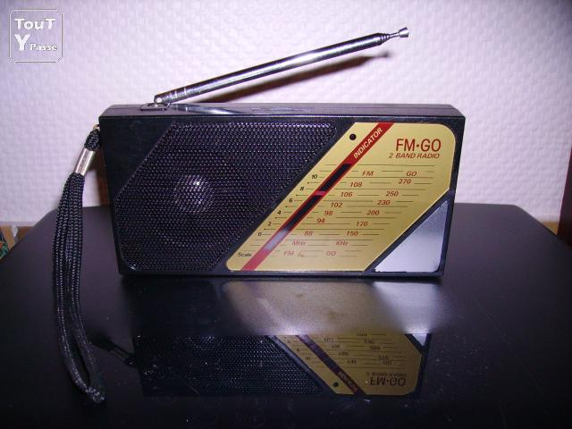 Photo MINI RADIO PORTABLE Fm-Go image 1/1