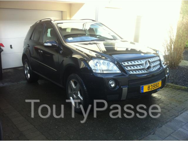 photo de ML 320 CDI noir