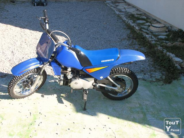 photo de Moto cross piwi 80