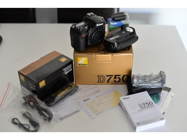 photo de Nikon D750 boîtier nu - Excellent état