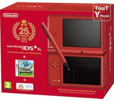 photo de Nintendo dsi xl rouge