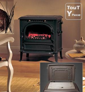 nouveau poele tout fonte watts bois charbon tva livr plac compris. Black Bedroom Furniture Sets. Home Design Ideas