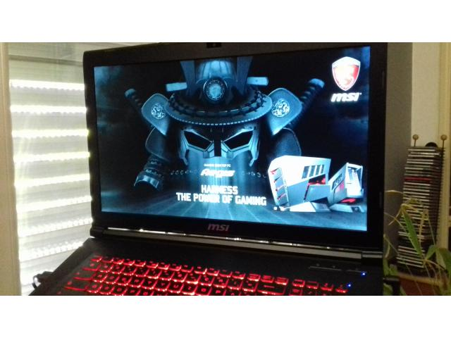 photo de Ordinateur portable msi gaming sous garantie