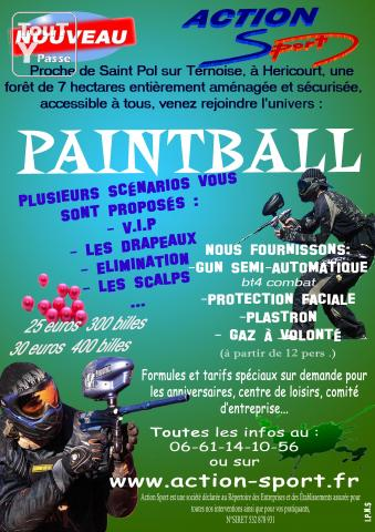 photo de Paint ball