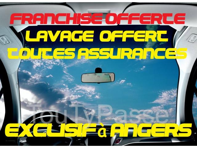 photo de PARE BRISE FRANCHISE OFFERTE+LAVAGE
