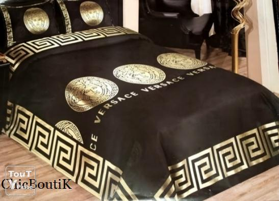 parure de lit versace design neuve. Black Bedroom Furniture Sets. Home Design Ideas